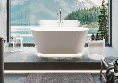 Wanna wolnostojąca – na co należy zwrócić uwagę projektując łazienkę?